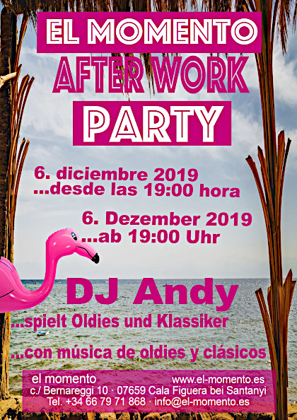 Letzte After-Work-Party in 2019 im el momento